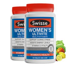 Swisse 女士多种复合维生素120粒 25+ 保税区发货