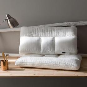【枕芯】家纺 全棉/纯棉 汉方草本四区护睡枕/护颈枕  - 缔歌纺织