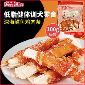 道格思 鸡肉绕深海鳕鱼条(100克)
