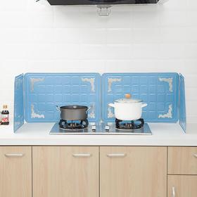 日本进口挡油板 厨房灶台防油溅隔油板 燃气灶防风隔热铝箔挡板