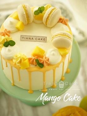 芒果蛋糕 芒果奶油蛋糕