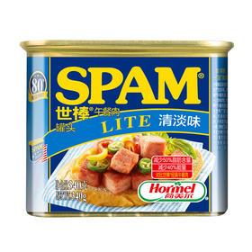 荷美尔spam世棒午餐肉340g 原味即食猪肉罐头 三明治火锅食品材料
