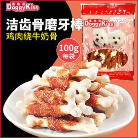 道格思 鸡肉绕牛奶骨(100克)