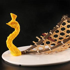 孔雀头模具 创意菜盘头 孔雀盘饰模具可以制作盐雕、巧克力、琼脂等