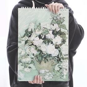 文具A4图画本手绘本子 空白素描本小学生美术涂鸦速写本Z