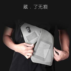 【顺丰包邮】二代FINO小飞数码收纳枪包男士胸包斜挎运动休闲腰包多功能商务单肩包