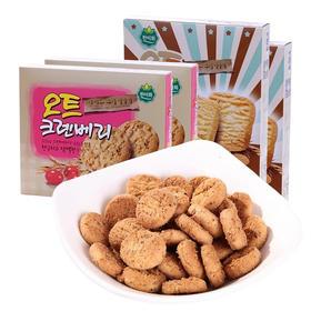 【零食组合4盒】韩美禾蔓越莓曲奇饼干2盒&牛奶扁桃仁饼干2盒 下午茶点心办公室零食组合