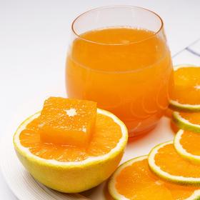 【预售】爆汁橙九月红 皮薄多汁 细腻化渣 酸甜口感 自家果园橙子现摘现发 不打蜡4斤装包邮