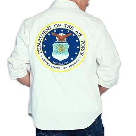 【型男时尚 加厚抗磨】美国空军主题衬衫
