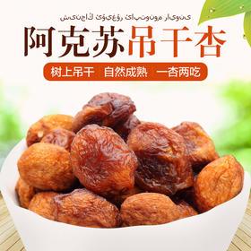 新疆阿克苏吊干杏 吊干 树上干杏肉无添加果干零食2斤装