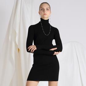 SYUSYUHAN设计师 巴素兰百分百羊毛舒适贴身亲肤百搭打底连衣裙