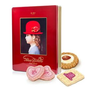 红帽红盒什锦饼干 504g