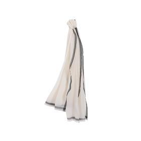 羊毛素雅超薄围巾 超柔羊毛 添加9%山羊绒 严选生活 网易严选
