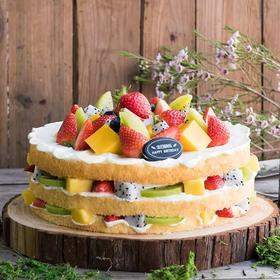 晴朗夏日  全是鲜果很满足