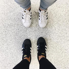Adidas Superstar W 三叶草贝经典壳头低帮复古板鞋 (预售7天)