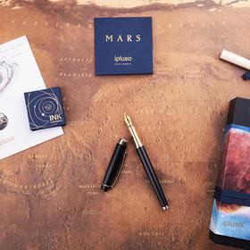 【送男友 瞬间绅士力MAX!】ipluso意索mars黑金钢笔墨囊礼盒套装