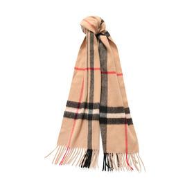 Chloe制造商  经典100%羊绒格纹围巾 百分百山羊绒 严选生活 网易严选