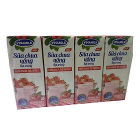 越南进口 VINAMILK维娜 草莓味酸奶饮品