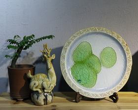 池塘-装饰餐盘