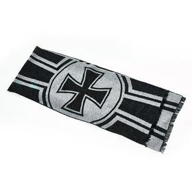 【纯正羊毛】德军机徽提花羊毛围巾