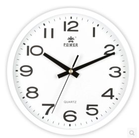 白色挂钟(起订5个)