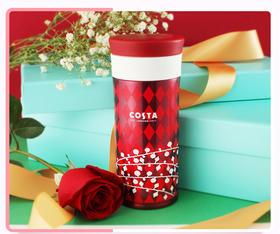 2017圣诞限量版保温杯,Costa咖啡 X 膳魔师