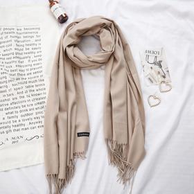百搭秋冬 加厚披肩两用围巾