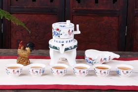 创意石磨全半自动茶具套装 家用防烫泡茶器(4种款式)