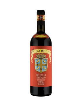 芭比花田单一园 布鲁诺蒙塔希诺珍藏干红葡萄酒2004/Fattoria dei Barbi Brunello di Montalcino Riserva 2004