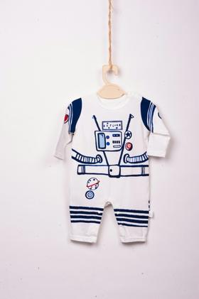 长腿叔叔白宇航员儿童内衣