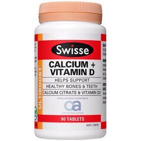 Swisse维生素D钙片【新西兰直邮】