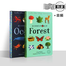 独家书-Lift the flap nature hidden srld FOREST(2本)隐藏的世界