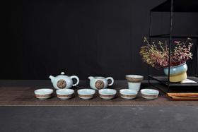 整套浮雕茶具套装(9种款式)