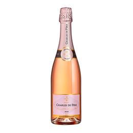 迪费珍藏桃红起泡酒,法国 布根地 Charles de Fere Reserve Rose Dry, France Burgundy