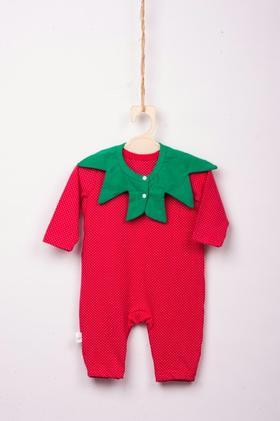 长腿叔叔红草莓儿童内衣