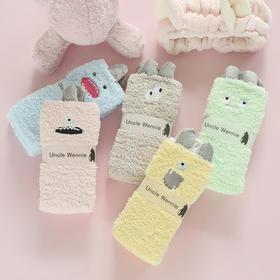 日系小怪兽软绵绵袜