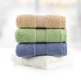 毛巾大毛巾纯棉洗脸家用擦脸巾成人全棉吸水加大面巾 3条装