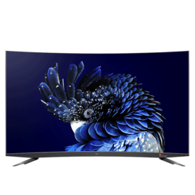 【TCL官方正品】TCL 65Q960C 65英寸34核原色量子点 人工智能HDR超薄4K曲面电视(深空灰)
