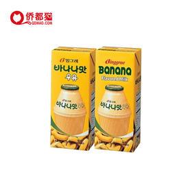 【韩国】香蕉牛奶 200ml