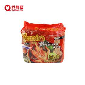 【泰国】七咔呢泰式冬荫功风味方便面 5袋装 350g