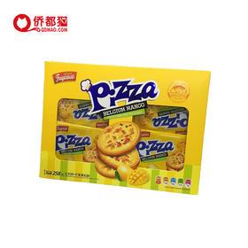 【台湾】比利时芒果果粒饼干 250g/盒