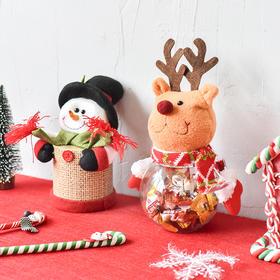 圣诞糖果收纳盒储物罐  文具