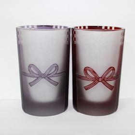 【水引祝夫妇酒杯】限量手工雕花玻璃酒杯酒盅 Lotus Miyavi