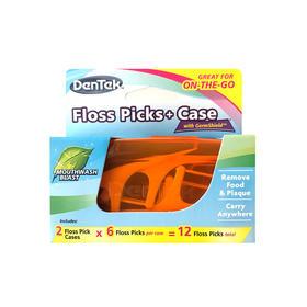 美国进口 Dentek德泰克便携式牙线棒2盒*6支