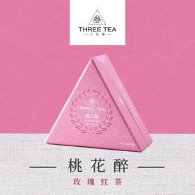 【Three Tea 三生茶】桃花醉—玫瑰红茶 茶包 袋泡茶