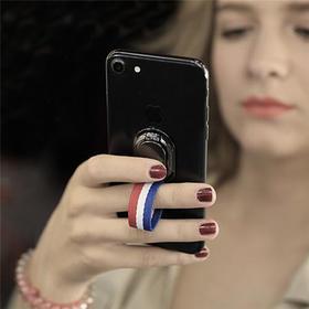 【爱数码】德国潮牌4Smarts 创意织布手机指环  iPhone  三星 华为通用手机扣
