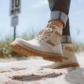 【男士马丁靴】反绒军靴秋季新款圆头马丁靴男靴子男士靴子作战靴工装鞋 | 基础商品