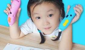 儿童低温3D打印笔无线充电 儿童涂鸦立体绘画玩具