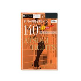 日本 ATSUGI 厚木140D 塑形发热丝袜 2双盒