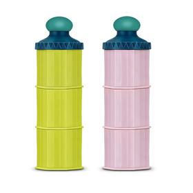 日本原产 Betta贝塔城堡型牛奶奶粉盒